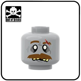 HOB Head Zombie Series Moustache