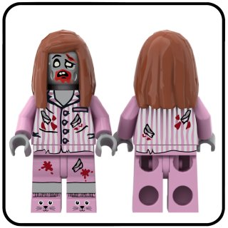 LEGO® Minifigur Zombie Series Sleepy Girl